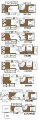 rv house plans glendale titanium fifth wheel floorplans 8 layouts everything