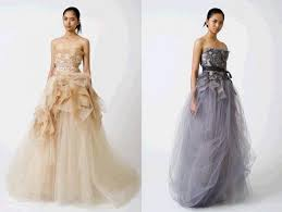 vera wang wedding dresses 2010 vera wang renowned american wedding dress designer