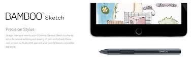 wacom u0027s new u0027bamboo sketch u0027 stylus lets you draw on any iphone or