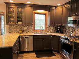 Kitchen Peninsula Design Wood Valance Over Kitchen Sink Google Search Kitchen Lights