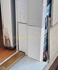 How To Replace Exterior Door Frame Rotted Exterior Door Frame Splice Repair By Installing A New