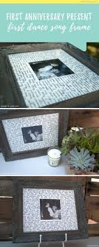 anniversary present the 25 best 1st anniversary gifts ideas on diy 1st