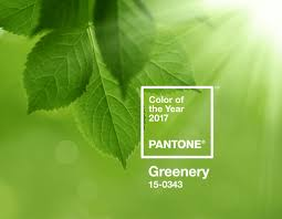 pantone color of the year 2017 greenery and top 10 spring colors
