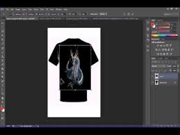 desain kaos futsal di photoshop tutorial membuat desain baju dari pohotoshop cs6 youtube