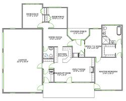 house plans with open concept 3 bedroom bungalow floor plans open concept memsaheb