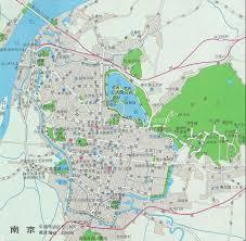 Chinese World Map by Nanjing Map