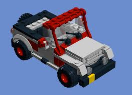lego jeep set recreated lego jurassic world jp jeep new respect for traveller u0027s