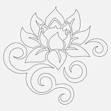 Simple Lotus Flower Drawing - lotus flower bud tribal all things tattoo u0027s pinterest lotus