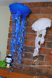 diy jellyfish octonauts birthday party decoration ideas under