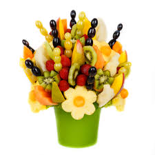 edible bouquet try edible fruit bouquet in place of bright blooms edible