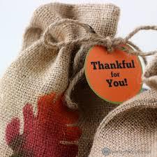 Thanksgiving 2014 Gifts Diy Burlap Treat Bags For Thanksgiving Free Printable