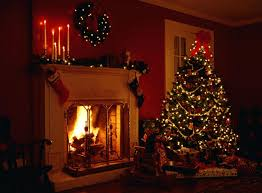 fireplace christmas wallpaper fireplace design and ideas