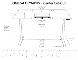 Adjustable Height Desk Plans imovr olympus adjustable height stand up desk review