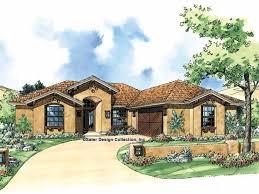 Rambler House Style Eplans Spanish House Plan Traditional Southwestern Style 1515