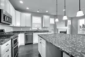 black and white cabinets dark grey granite countertops kitchen large size kitchen dark