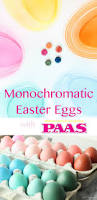 Make Beautiful by Monochromatic Easter Eggs Inspired