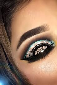 henna eye makeup 50 best ikhaniic eyemakeup images on headdress smokey