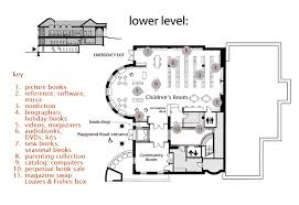 library floor plan design floor plan groton public library