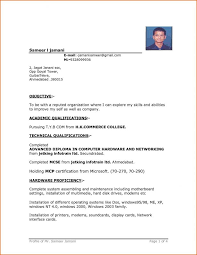 Best Resume Format For Students by Resume Best Resume Format For Engineering Students English
