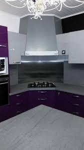plaque cuisine cuisine avec plaque de cuisson en angle fab ipc travaux