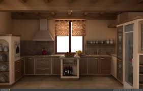 rustic industrial kitchen design marble flooring ceramics flooring