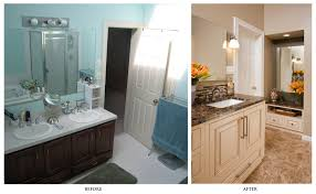 before and after diy bathroom renovation ideas