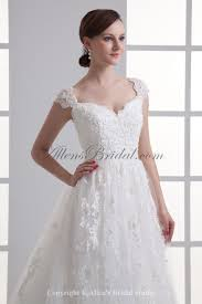 peruvian wedding dresses allens bridal lace the shoulder a line sweep wedding dress