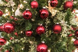 free stock photo of closeup of ornaments on tree