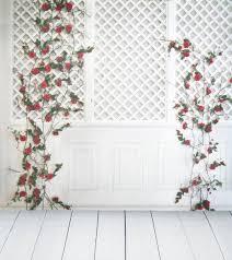 wedding backdrop lattice 8x12ft indoor light lattice pattern wall flower wooden floor
