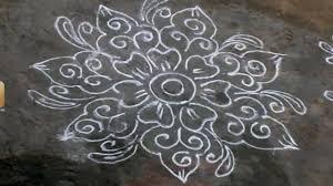 Floor Designs Mugulu Designs For Flower Simple Rangoli Designs For Floor