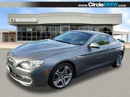 pre owned 6 series bmw pre owned 2013 bmw 6 series 650i xdrive awd 650i xdrive 2dr coupe