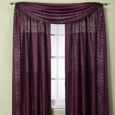 Purple Window Valances A Pair Of Micro Suede Purple Window Curtains Drapes Panels