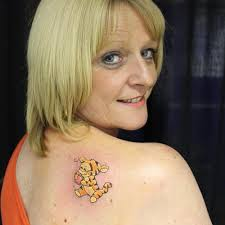 tigger tattoo tigger tiggertattoo cute kustomkulture u2026 flickr