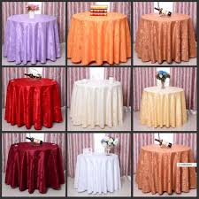 wedding table linens for sale elegant rose flower pattern round table cloths wedding tablecloths