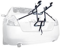 sports deluxe 2 bike trunk mount rack