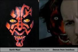 Darth Maul Meme - darth maul totally looks like demon from insidious totally looks