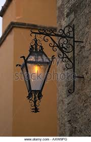 mexican wrought iron lighting a wrought iron street l stock photos a wrought iron street l