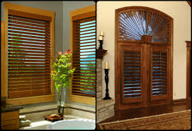 mixing faux wood blinds and plantation shutters kirtz shutters