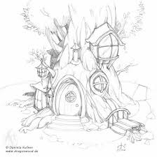 fairy tree house coloring pages u2013 google art