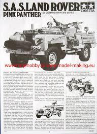 land rover pink british sas pink panther land rover tamiya 35076