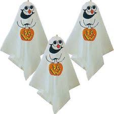 3 haunted halloween hanging decoration ghost spooky party balloon