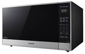 Microwave Oven Cart Panasonic 2 2 Cu Ft Stainless Countertop Microwave Oven Nn Sn955s