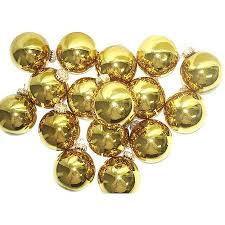 cheap gold glass ornaments find gold glass