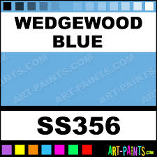 wedgewood blue softees ceramic porcelain paints ss356