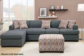 Modern Grey Sectional Sofa Furniture Entrancing Gray Sectional Sofa Exquisitie Pattern Home