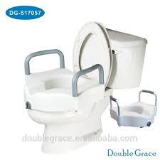 siège toilette surélevé médicaux deluxe élevées siège de toilette surélevé avec amovible