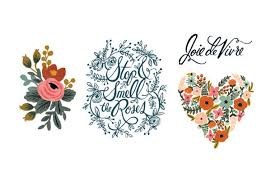 rifle paper co temporary tattos u2014 tattly tattoo designs