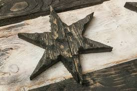 distressed wooden chicago flag black and white version vintage