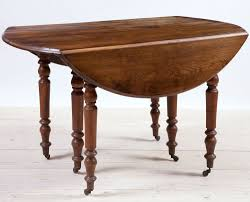 Oak Drop Leaf Dining Table 18th Century Flemish Oak Gate Leg Dining Table With Center Leaf