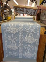 Hand Printed Wallpaper by Getting The Hang Of U2026adelphi Paper Hangings Agentofstyle